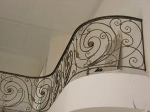 Кованый балкон ограждение