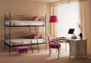 Модель кровать двухъярусная детская