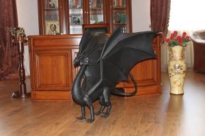 Кованый дракон 2 ручной ковки