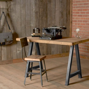 Набор мебели Лофт 18 из металла и дерева