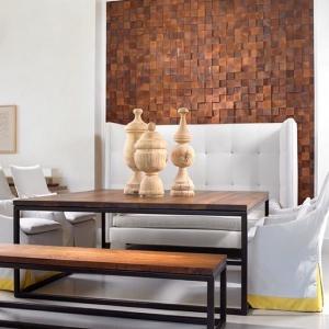 Набор мебели стол и скамья Loft-85