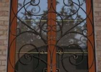 Кованая решетка на окно F11