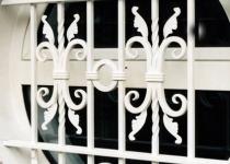 Кованая решетка на окно F21