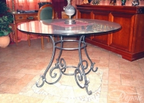 Кованый стол F23