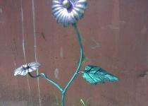 Кованый цветок F26