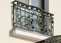Кованый балкон F33