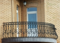Кованый балкон F44