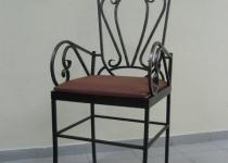 Кованый стул F59