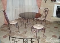 Кованый стул F117