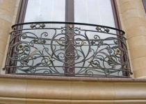 Кованый балкон F120