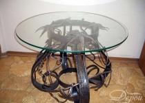 Кованый стол F130