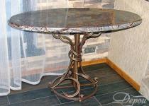 Кованый стол F199