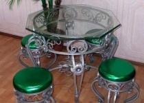Кованый стол F200