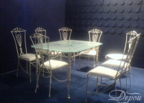 Кованый стол F204