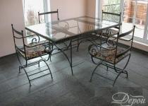 Кованый стол F209