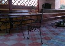 Кованый стол F216