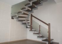 Металлокаркас лестницы L6