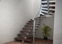 Металлокаркас лестницы L9