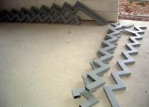 Металлокаркас лестницы L4