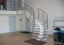 Металлокаркас лестницы L2