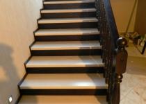 Деревянная лестница F5