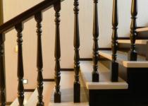 Деревянная лестница F6