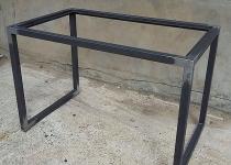Столик со стеклянной столешницей Loft-74