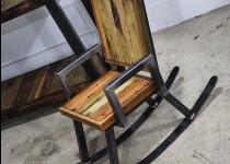 Кресло-качалка Лофт-81