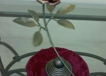 Кованая роза F39