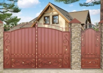 Типовые ворота Дворянские