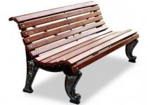 Чугунная скамейка Адмирал