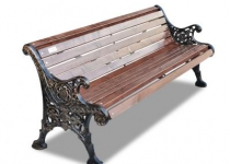 Чугунная скамейка Ажурная