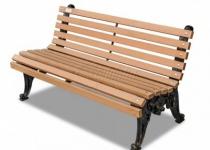 Чугунная скамейка Белые Ночи 2