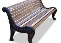 Чугунная скамейка Дубравушка