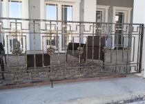 Кованый балкон F146