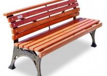 Чугунная скамейка Хутор
