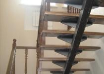 Металлокаркас лестницы L11