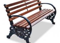 Чугунная скамейка Карусель