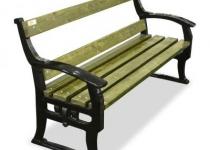 Чугунная скамейка Кельн