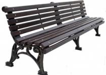 Чугунная скамейка Классика Парковая