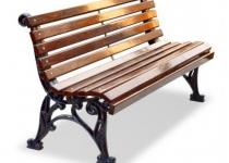 Чугунная скамейка Классика