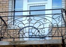 Кованый балкон F6