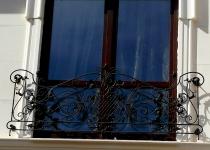 Кованый балкон F4