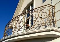 Кованый балкон F145