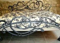 Кованая кровать F31