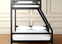 Кровать лофт двуспальная F3