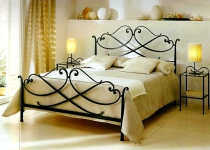 Кровать металлическая F158