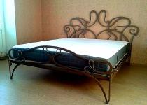 Кованая кровать F34