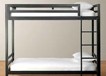 Кровать лофт двухспальная F6