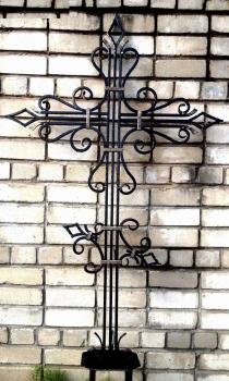 Кованый крест K1